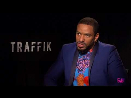 Traffik with 'Laz Alonso' discusses new film on human trafficking