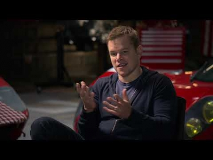 "Matt Damon on why he worked on ""Ford vs.Ferrari"""