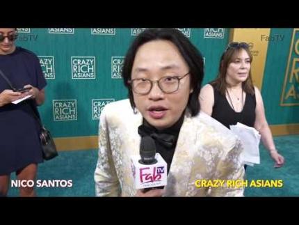 "Jimmy O Yang talks about ""Crazy Rich Asians""  premiere"