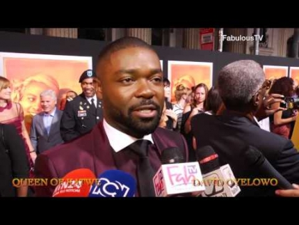 David Oyelowo stars in Disney's 'Queen of Katwe' on FabulousTV