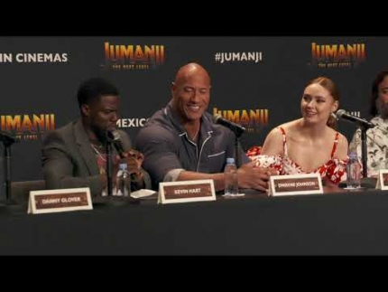 """Jumanji"" 'The Next Level'  Press Conference"