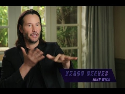 "KEANU REEVES EXCLUSIVE!  ""John Wick 3""  Motorcycle Cutdown Scenes"
