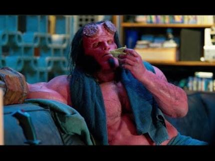"Sneak peak ""Hellboy""  The Osiris Club  advanced clip..."