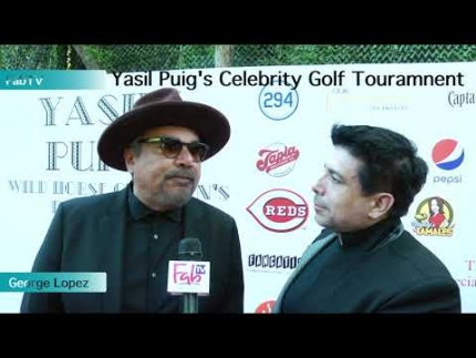 "George Lopez at ""Yasiel Puig's Celebrity Poker Tournament"""
