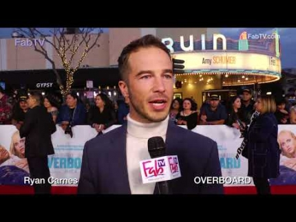 "Ryan Carnes  ""OVERBOARD"" premiere on FabTV"