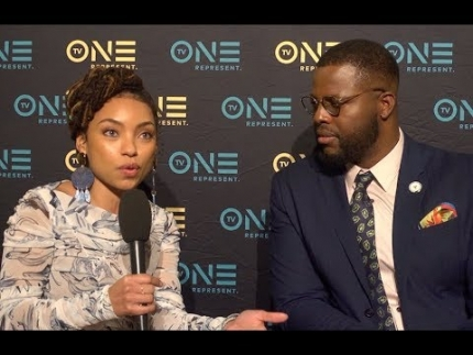 "Logan Browning & Winston Duke discuss ""NAACP Image Awards"" on FabTV"