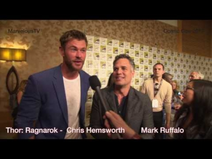 Thor: Ragnarok  'Chris Hemsworth & Mark Ruffalo'  on MarvelousTV