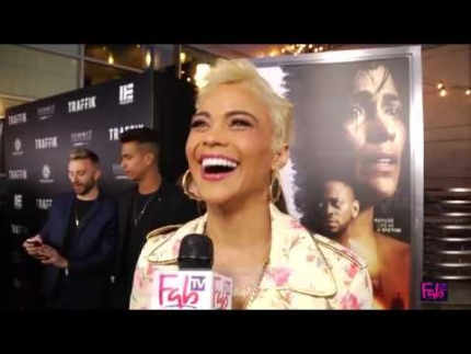 Paula Patton stars in 'Traffik' making everyone feel good tonight!