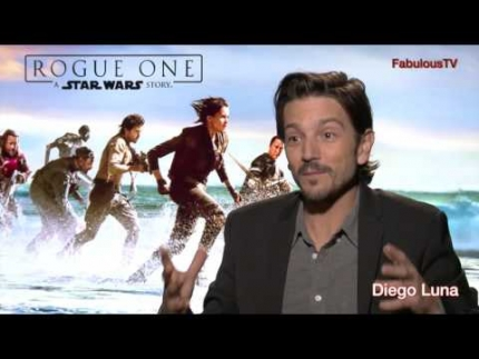 "Diego Luna talks about Star Wars ""Rogue One"" English-Spanish interview with Fernando Escovar"