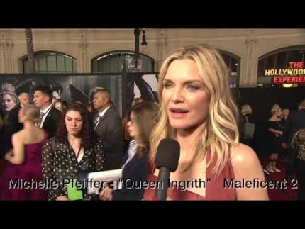 "Michelle Pfeiffer arrives at Maleficent 2 ""Maleficent: Mistress of Evil""  World Premiere"