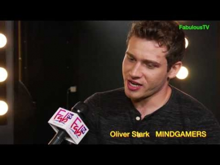 Oliver Stark reveals the coolness of 'MINDGAMERS' on FabulousTV