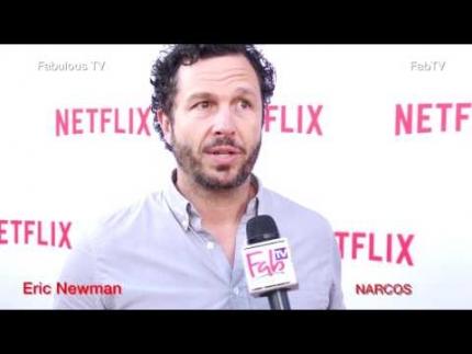 Producer Eric Newman at NARCOS season 2 premiere  Fabulous TV