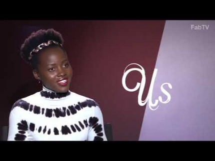 "Lupita Nyong'o talks about her new film ""Us"""