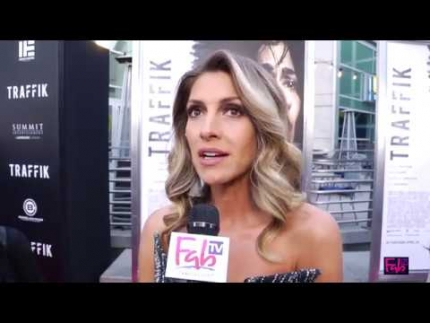 Dawn Olivieri details the new 'Traffik' movie at the premiere