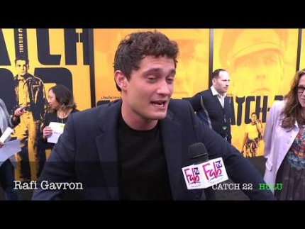 "Actor Rafi Gavron  at the ""CATCH 22""  premiere"