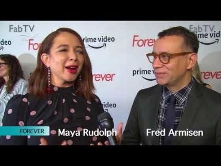 Maya Rudolph & Fred Armisen 'FOREVER' premiere