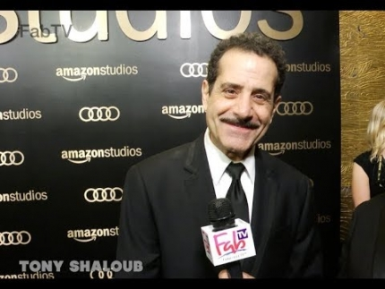 "Tony Shaloub ""The Marvelous Mrs. Maisel"" Amazon Studios @ Golden Globes on  FabTV"