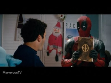 Once Upon A Deadpool   First look!