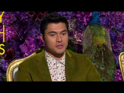 """Crazy Rich Asians"" with stars  Henry Golding , Constance..."