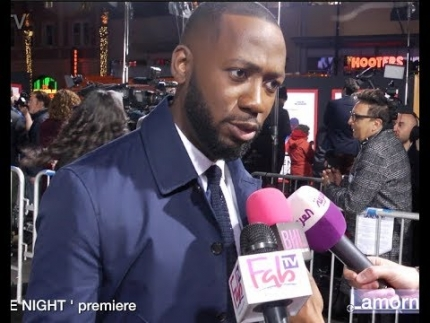"Lamorne Morris at the ""GAME NIGHT""  premiere in Hollywood"