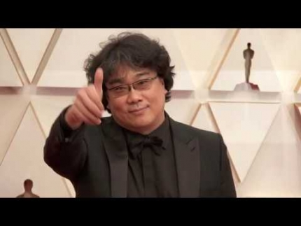 """Parasite"" director 'Bong Joon ho' & cast Winners!..."