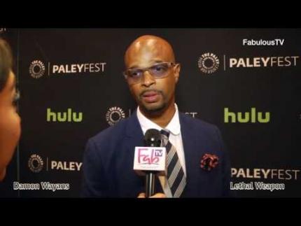Damon Wayans talks about 'LETHAL WEAPON' the TV series premiere on FabulousTV