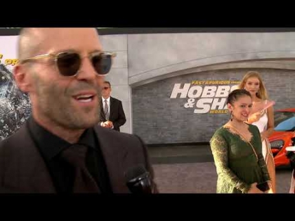 "Jason Statham at the ""Hobbs and Shaw""  World Premiere"