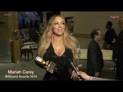 "Mariah Carey at the ""2019 Billboard Awards"""