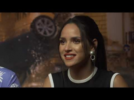 "Ryan Reynolds & Adria Arjona  interview for ""6 Underground"""