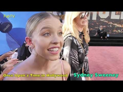 "Sydney Sweeney arrives at the ""Once Upon a Time in Hollywood"""