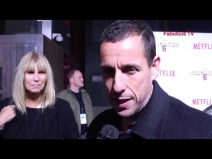 Adam Sandler at 'The Ridiculous 6' premiere Fabulous TV