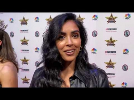 "Parveen Kaur from Manifest at ""The Beverly Hills Dogs Show"" 2020"