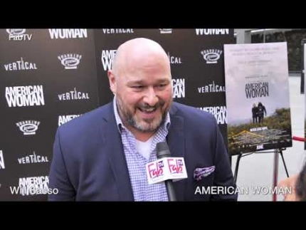 Actor 'Will Sasso'  at the  AMERICAN WOMAN  premiere