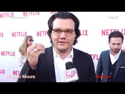 Wagner Moura star of NARCOS talks aboout season 2  Fabulous TV