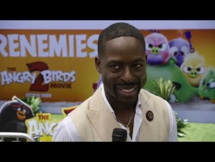 "Sterling K. Brown at the ""Angry Birds 2"""