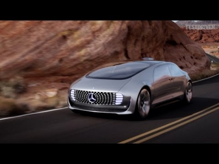 Mercedes-Benz F 015 Concept: Luxury in Motion