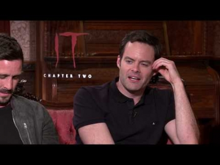 """IT Chapter 2""  with Andy Bean - Isaiah Mustafa - James Ransone - Bill Hader"