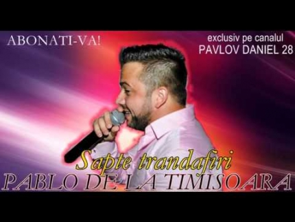 Pablo de la Timisoara - Sapte trandafiri (live original)