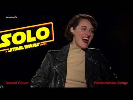 Donald Glover & Phoebe Waller-Bridge 'SOLO' A STAR WARS Story
