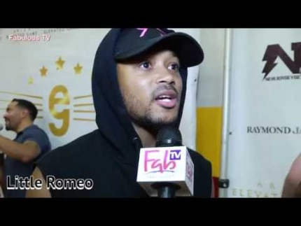 Little Romeo at Trevor Ariza\'s Elevated Game celebrity basketball on  Fabulous TV