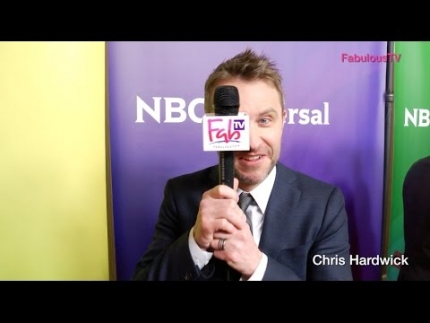 Chris Hardwick kills it again #TheWall on FabulousTV