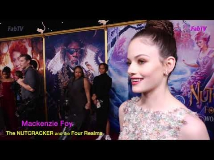 "Mackenzie Foy at ""The NUTCRACKER and the Four Realms"""