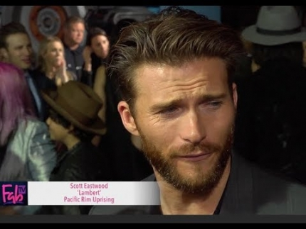 Scott Eastwood a the 'Pacific Rim' Uprising Global Premiere