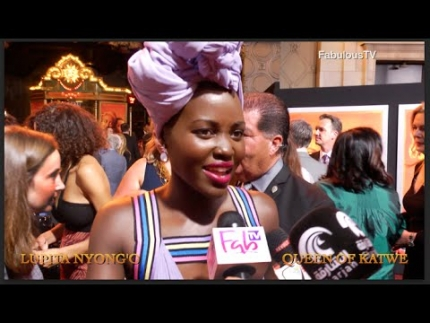 Lupita Nyong'o stars in Disney's 'Queen of Katwe' on FabulousTV