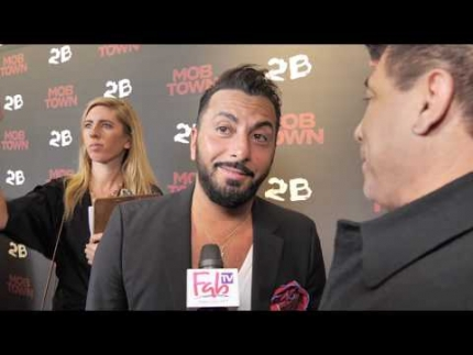 """Mob Town"" all the interviews from the red carpet!"