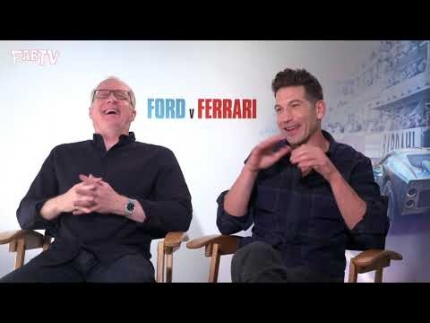 "Tracy Letts & Jon Bernthal reveal their acting style from ""Ford v Ferrari"""