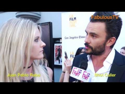 Juan Pablo Raba stars in 'SHOT CALLER' on FabulousTV