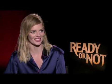 "Samara Weaving the games of ""Ready or Not"""