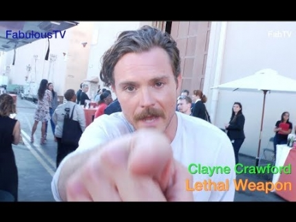 Clayne Crawford talks about his comedy on 'Lethal Weapon' on FOX