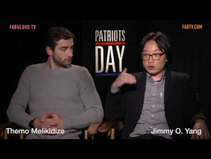 Themo Melikidize & Jimmy O. Yang talks about Boston & 'Patriots Day'